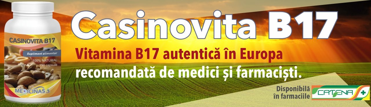 Vitamina B17 – Casinovita B17 – pentru regenerare celulară